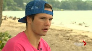 Special Olympic gold Medalist Alex Buehlow  vying to swim across Lake Ontario
