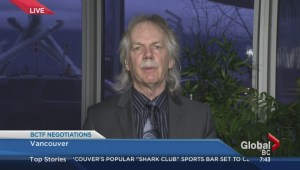 BCTF president Jim Iker on teachers' vote