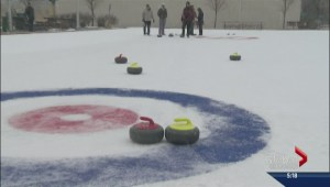 Skaters give way to curlers