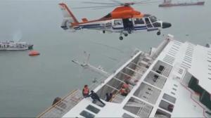 Attention now turns to crew of stricken South Korean ferry