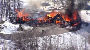 Fire destroys Bearspaw home