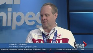 Manitoban brings home curling gold