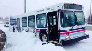 Calgary Transit snow woes after blizzard