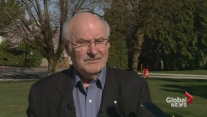 Mike Harcourt quits the NDP