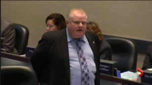 City Council asks Ford to leave, he refuses.