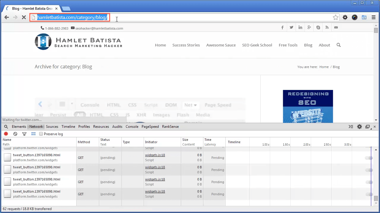 Redirect WWW to Non-WWW on Apache Step 20 - Notice URL