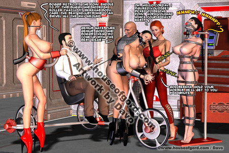 house of gord bdsm huge tits comics
