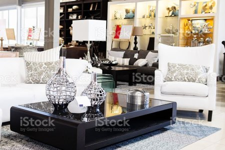 home decor store displaying elegant furniture and accessories picture id155147856