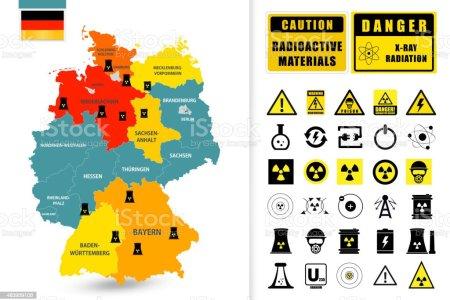 06eb06ac485124e9be6b0c4103e743d9 map of germany with nuclear power plants vector id483959106 nuclearplantsworldmap