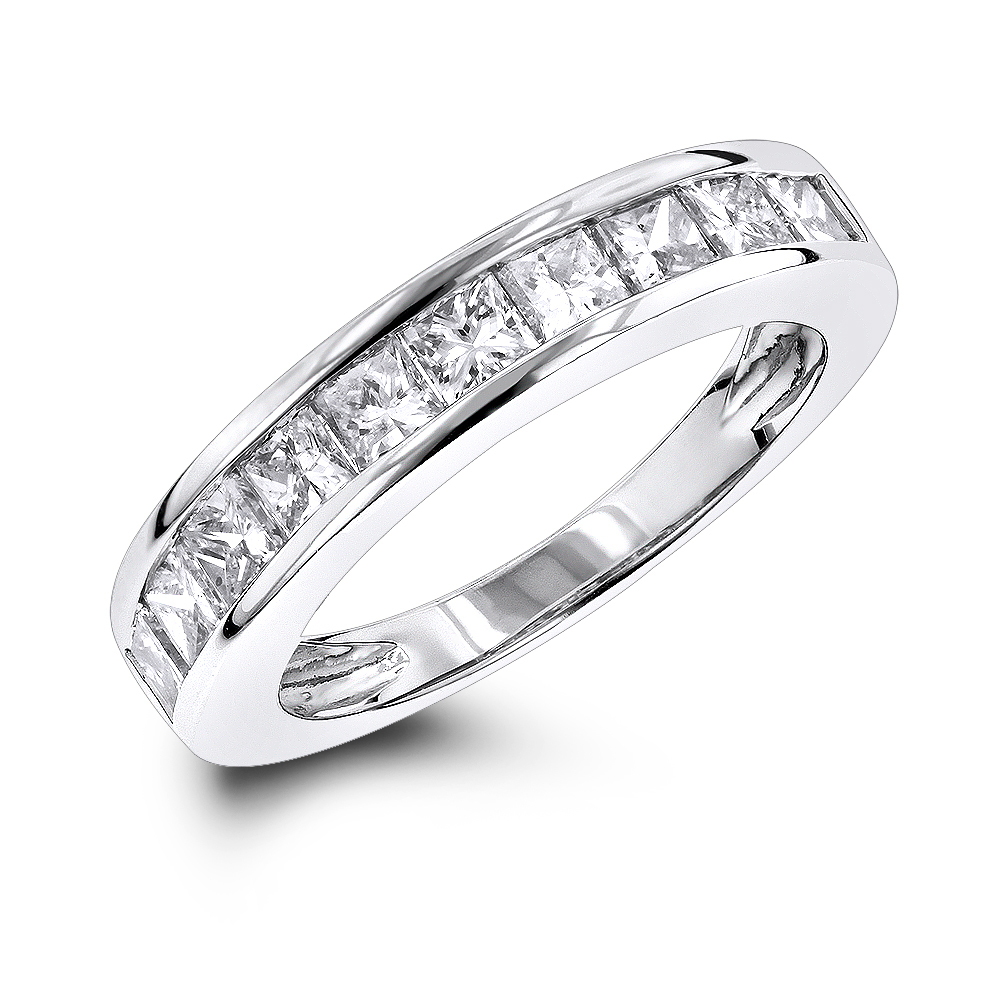 Supreme Luxurman Wedding Rings Row Princess Cut Diamond Band G Luxurman Wedding Rings Row Princess Cut Diamond Band Princess Cut Diamond Rings Zales Princess Cut Diamond Rings Ebay wedding rings Princess Cut Diamond Rings