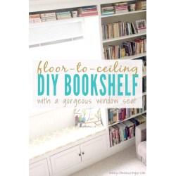 Small Crop Of Floor To Ceiling Bookshelves