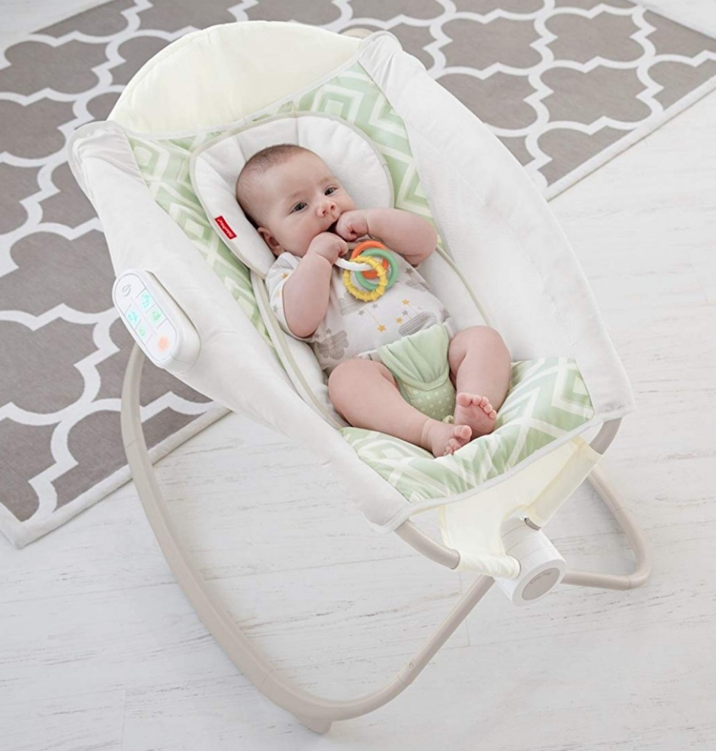 Relieving Bn Fisherprice Rock N Play Baby Rocker Sleeper Crib Cot Bed Greenbluegrey 1533398763 Bc5d52cc Auto Rock N Play Wont Rock Auto Rock N Play Manual baby Auto Rock N Play