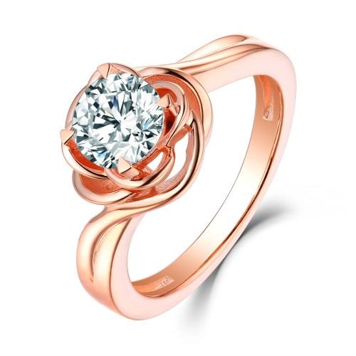 Medium Of Rose Gold Promise Ring