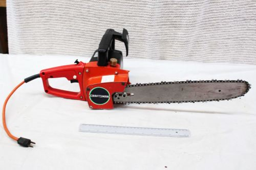 Medium Of Craftsman Electric Chainsaw