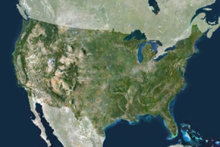 maps united states map satellite