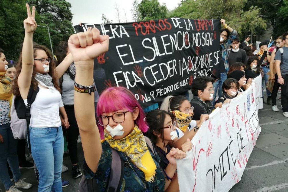 Estudiantes de diversas instituciones conmemorarán la Marcha del silencio Foto: Nicolás Corte