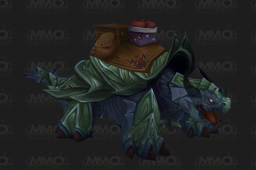 MoP: Mounts and pets (1/2)