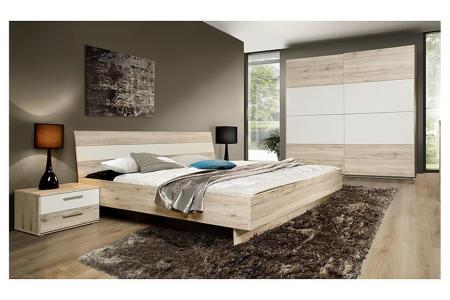 schlafzimmerset valerie schlafzimmer in sandeiche weiß