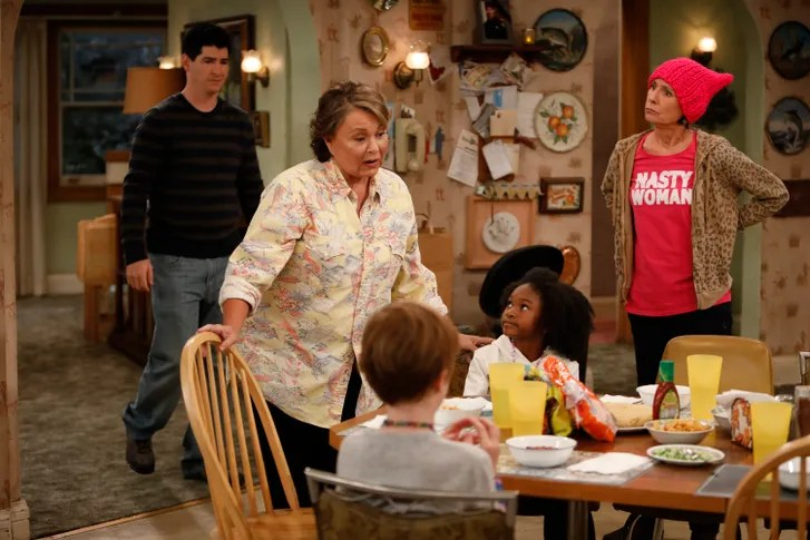 The Ambivalent Trump Era Politics of the    Roseanne    Reboot   The New     If the new season of    Roseanne    has a particular politics  it s one that  neither pro  nor anti Trump partisans can credibly claim as their own