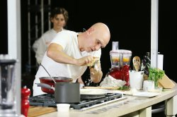 Small Of Michael Symon Wife