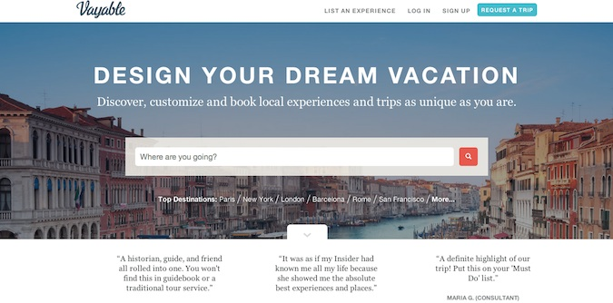 personal tour guides on vayable