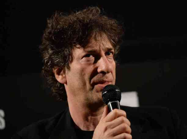 Writer Neil Gaiman attends a screening for Coraline on May 5 in Hollywood, Calif.