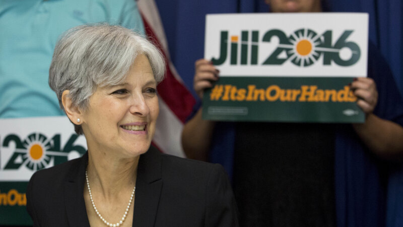 Jill Stein is leading the Green Party ticket. She hopes to capitalize on the wave of support for Bernie Sanders.