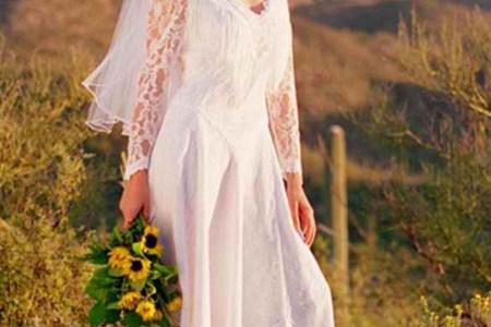 8094b4412db0d507 western style wedding dresses 1