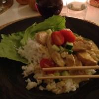 Thailändsk kyckling med ris