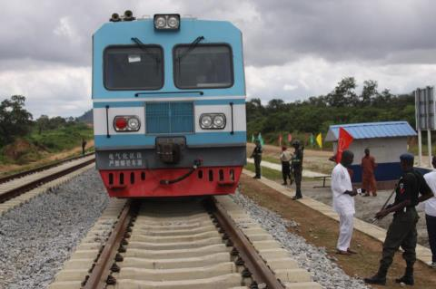 Abuja rail train