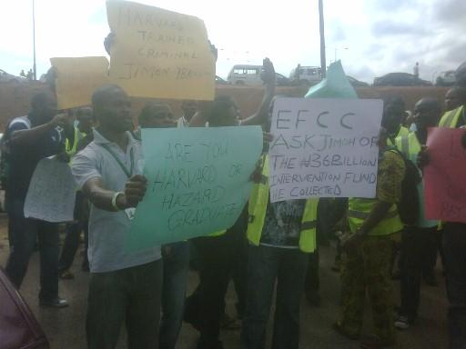 Protest - Air Nigeria