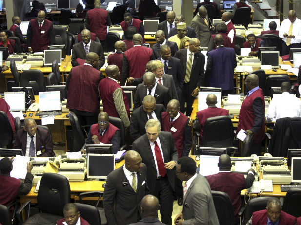 Nigerian Stock Exchange Trading floor [Photo: blogs.cfr.org]