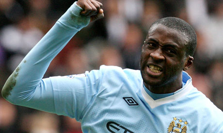 Yaya Touré (Photo: guardian.co.uk)