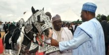 Ground breaking ceremony of Zungeru Hydroelectric Power Project Niger state, Goodluck Jonathan and Babangida Aliyu