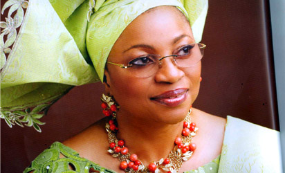 Businesswoman Folorunso Alakija