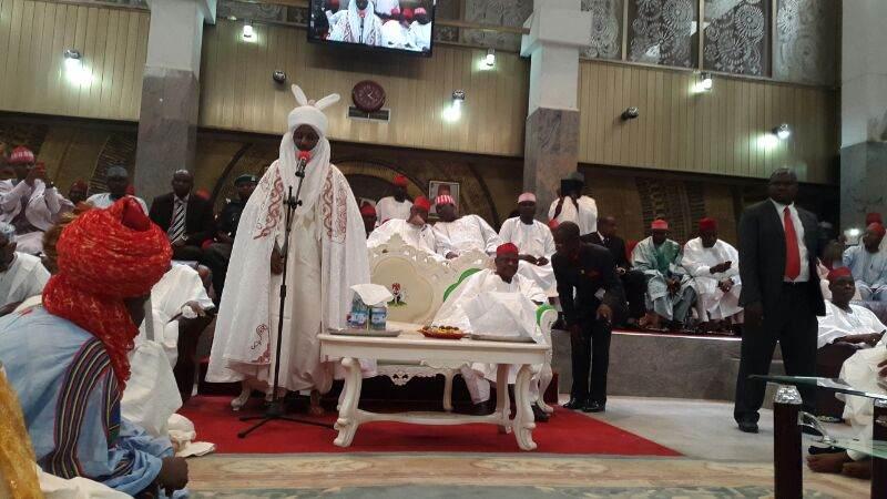 The Emir of Kano, His Highness Sanusi Lamido Sanusi