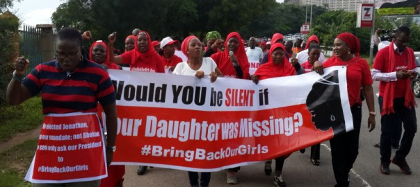 FILE PHOTO: The last time the BBOG group attempted to protest in the presidential villa, they were stopped half way.