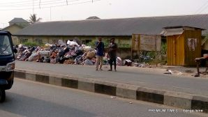 Dump site by Greater Evangelism World Crusade