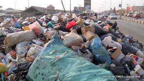 Dump site by the NNDC International Motor Park. Yenagoa
