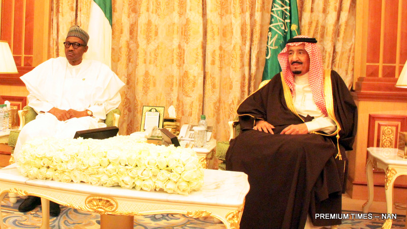 PIC 24. PRESIDENT BUHARI IN SAUDI ARABIA