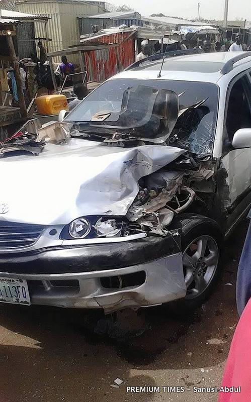 The other car in the accident.