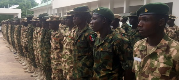 Civilian JTF that became Nigerian Soldiers