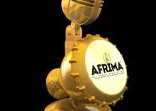 23.9 Carat Gold Plated AFRIMA Trophy
