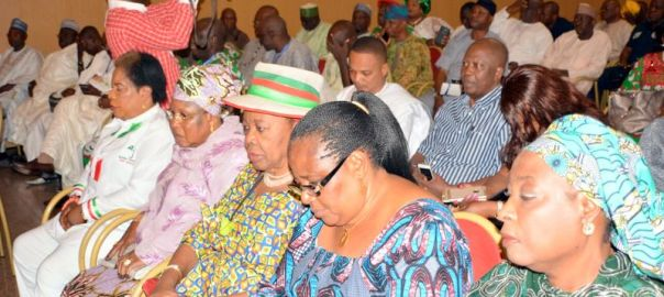 Cross section of leaders of the PDP
