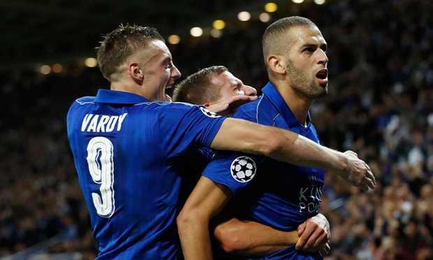 Leicester City record signing, Islam Slimani, was the goal scorer yet again.