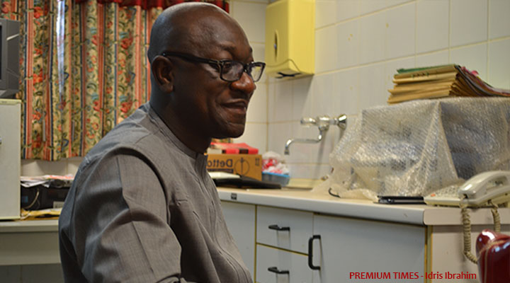 Ex-Appropriation Chair, Jibrin, undergoes dope test at National Hospital