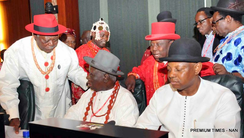 MUST SEE!!! NIGER DELTA ELDERS PRESENT 16 MAJOR REQUESTS TO BUHARI FOR PEACE TO REIGN