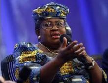 Minister of Finance, Ngozi Okonjo-Iweala
