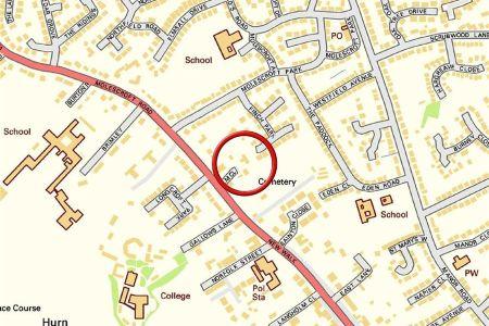 land for sale in development site, elm close, molescroft