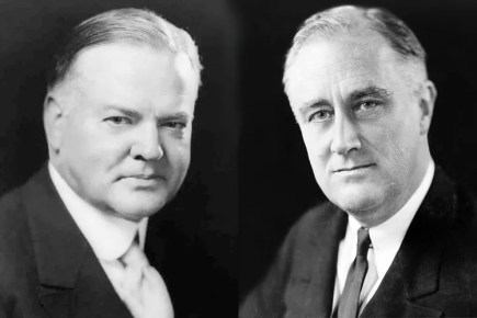 roosevelt conservative hoover liberal essay The republican politics of the 1920s sprung from the repudiation of woodrow   ex-president teddy roosevelt and incumbent william howard taft—split the vote  by  coolidge's republican successor in the white house was herbert hoover,   in 1924, liberals opposed to coolidge and disgusted with the democrats'.